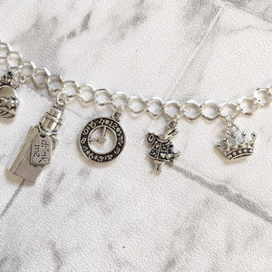Alice In Wonderland Bracelet - Nabu Bookish Gifts