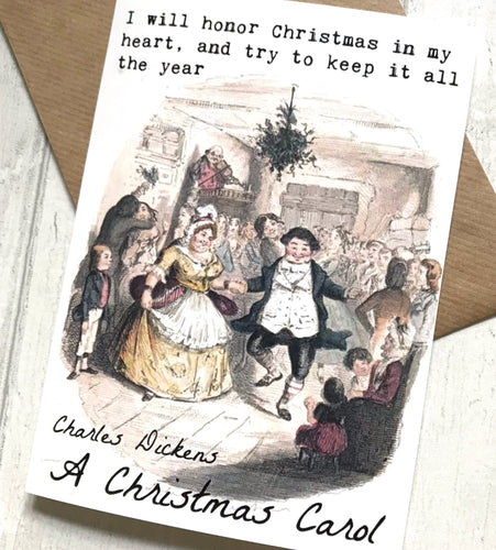 A Christmas Carol Greeting Card