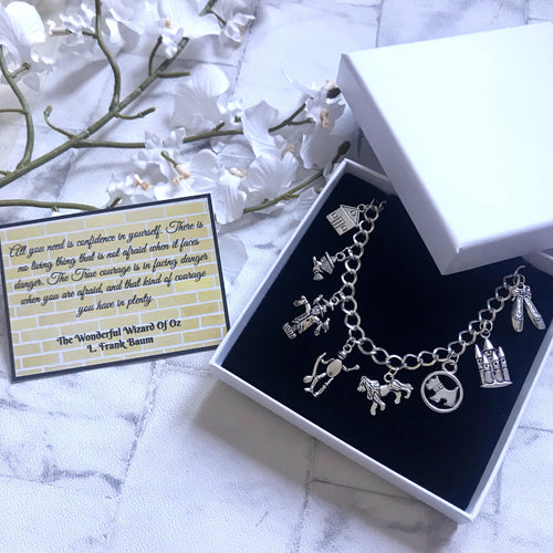 The Wonderful Wizard Of Oz Bracelet - Nabu Bookish Gifts | Literary Gifts For Book Lovers