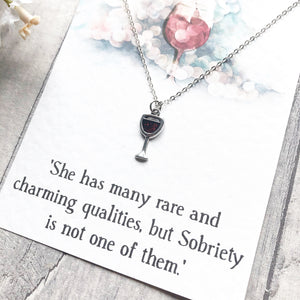 Jane Austen Necklace - Nabu Bookish Gifts | Literary Gifts For Book Lovers