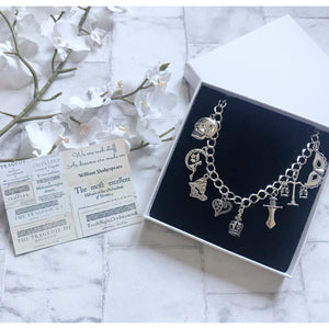 William Shakespeare Bracelet - Nabu Bookish Gifts