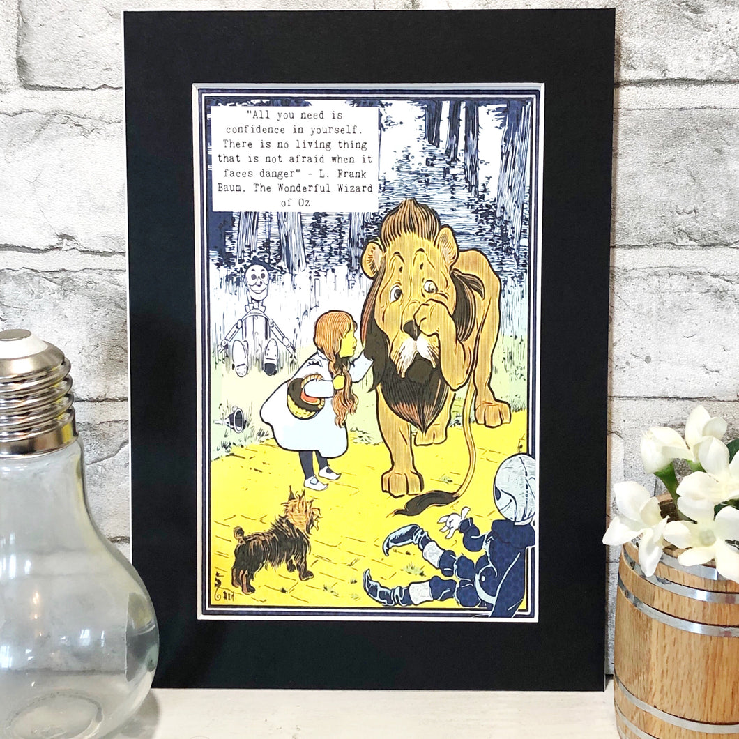 The Wizard Of Oz Colour Print - Nabu Bookish Gifts