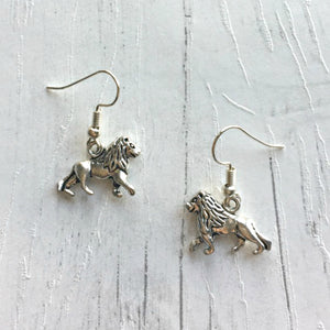 The Wonderful Wizard Of Oz Earrings - Cowardly Lion - Nabu Bookish Gifts