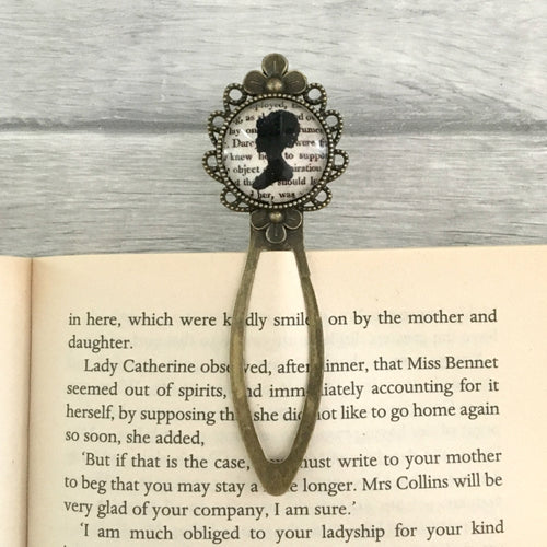Pride And Prejudice Bookmark - Elizabeth Bennet - Nabu Bookish Gifts | Literary Gifts For Book Lovers