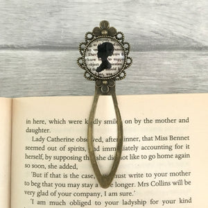 Pride And Prejudice Bookmark - Elizabeth Bennet - Nabu Bookish Gifts