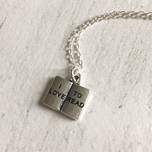 I Love To Read Booklover Necklace - Nabu Bookish Gifts