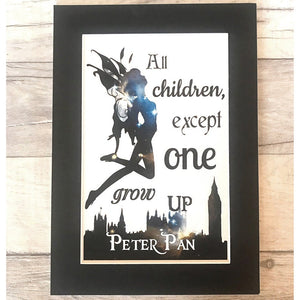 Peter Pan Colour Print - Nabu Bookish Gifts