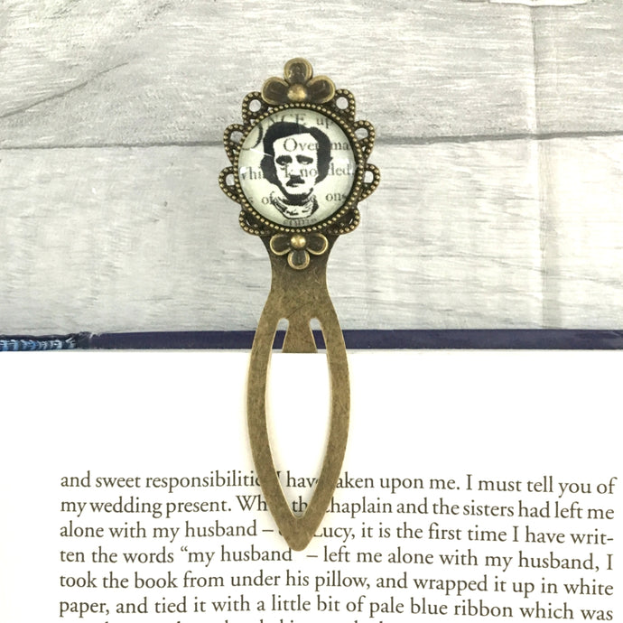 Edgar Allan Poe Bookmark - Portrait - Nabu Bookish Gifts