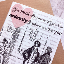 Pride And Prejudice Greeting Card - Nabu Bookish Gifts | Literary Gifts For Book Lovers