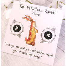 The Velveteen Rabbit Earrings - Sterling Silver Studs - Nabu Bookish Gifts | Literary Gifts For Book Lovers