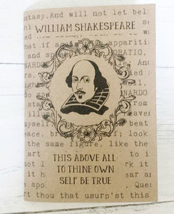 3 Notebook Set - 'Famous Writers' - Shakespeare, Oscar Wilde & Virginia Woolf - Nabu - Literary Gifts For Book Lovers
