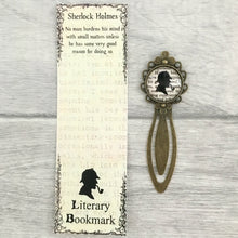Sherlock Holmes Bookmark - Nabu Bookish Gifts | Literary Gifts For Book Lovers