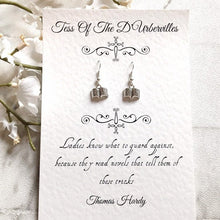 Tess Of The D'Urbervilles Book Earrings - Nabu Bookish Gifts