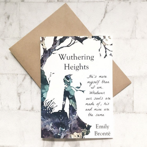 Wuthering Heights Greeting Card - Nabu Bookish Gifts | Literary Gifts For Book Lovers