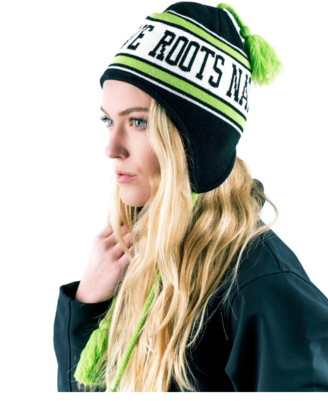 Native Roots Ear Tassel Winter Beanie