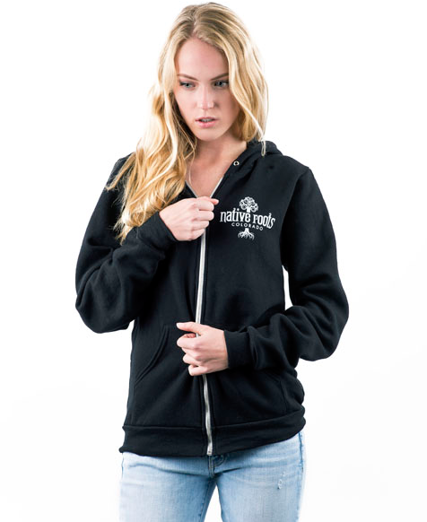 Native Roots Zip-Up Hoodie