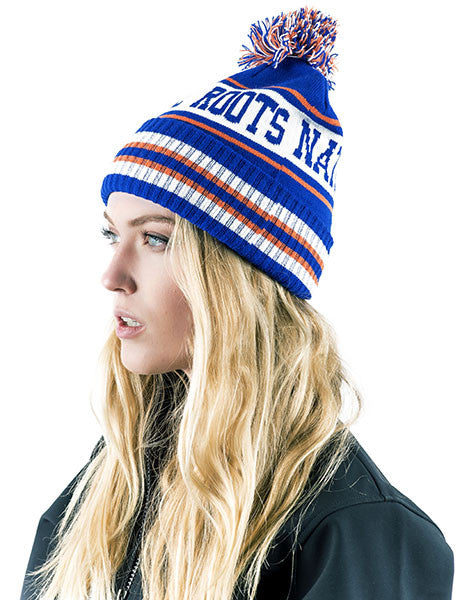Native Roots Broncos Beanie