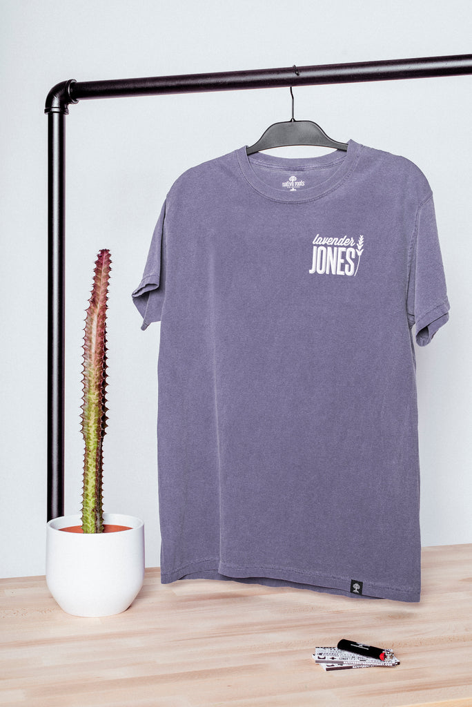 Purple Lavender Jones Tee