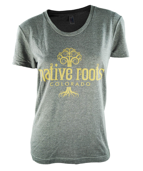 Native Roots Scoop Neck Tee