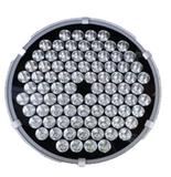 250Watt LED Round spotlight IP65 for marine fishing, trawlers, off road 4x4 250m beam