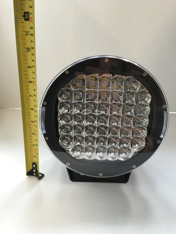 225 WATT 10 INCH ROUND LED LIGHT BAR SPOT 45 x 5W CREE LED WITH 316 STAINLESS STEEL BRACKET