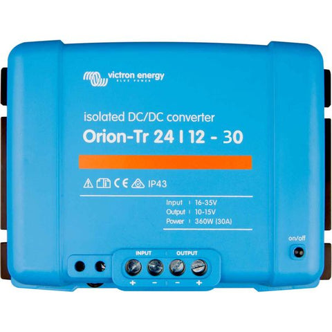24v Victron Orion-Tr 24/12-30AMP (360W) ISOLATED !!!  DC-DC converter
