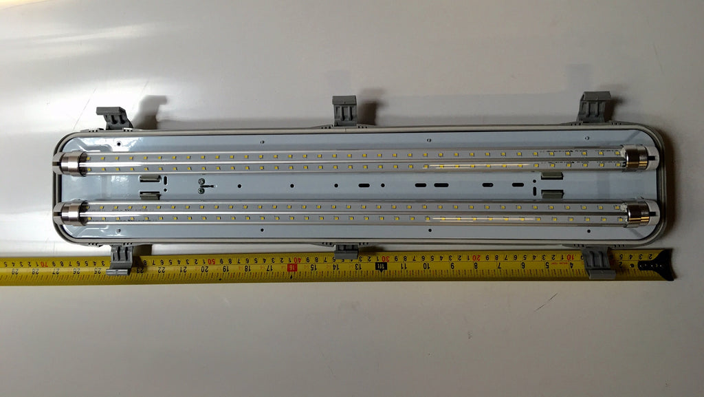 DOUBLE  LED DECK LIGHT AND IP65 HOUSING 12V DC  2x 9000000245 1x,9000000136