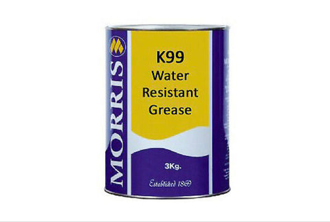 Morris K99 water resistant grease 3 Kilo