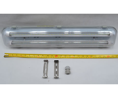 LED DECK LIGHT AND IP65 HOUSING 110-220-240V AC