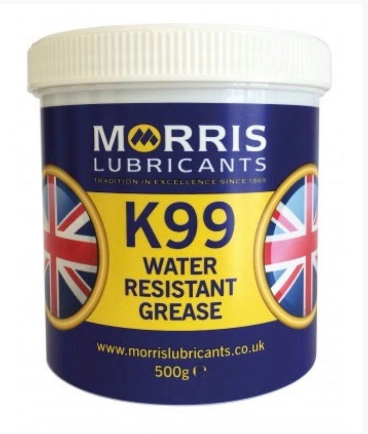 Morris K99 Water Resistant Grease 500 Gram