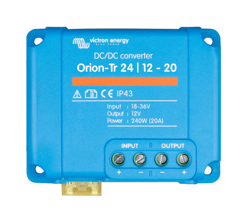 24v Victron  Orion-Tr 24/12-20 (240W) DC-DC converter  NON ISOLATED !!!  ORI241220200