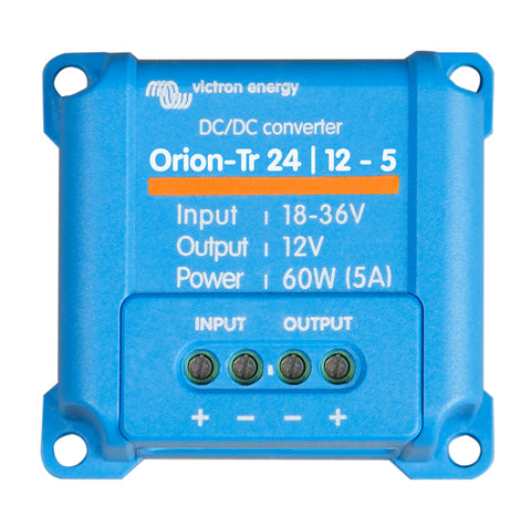 24v Victron Orion-Tr 24/12-5 amp (60W) DC-DC converter.  NON ISOLATED !!! ORI241205200