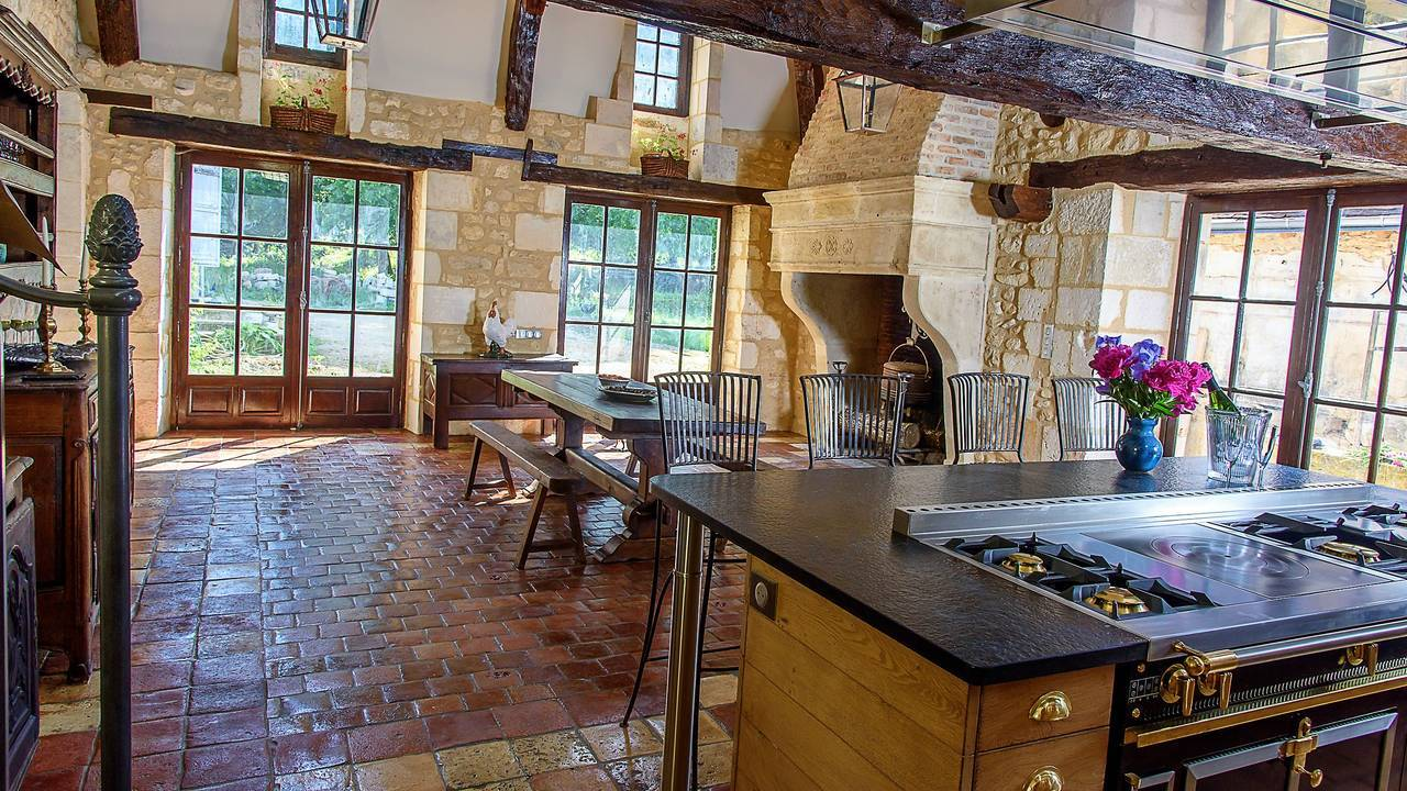 The most beautiful kitchen at the Old French Convent