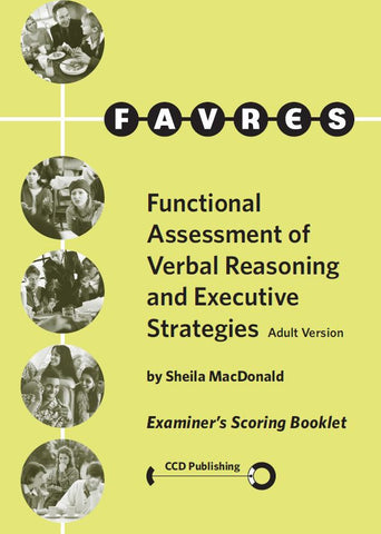 AFE101 - ADULT FAVRES - Examiner's Scoring Booklets (Pkg 25) (Level B)