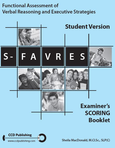 SFE101 - STUDENT FAVRES - Examiner's Scoring Booklets (Pkg 25) (Level B)