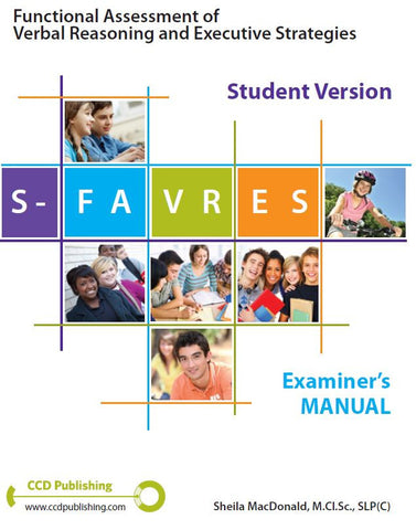 SFM106 - STUDENT FAVRES - Examiner's Manual