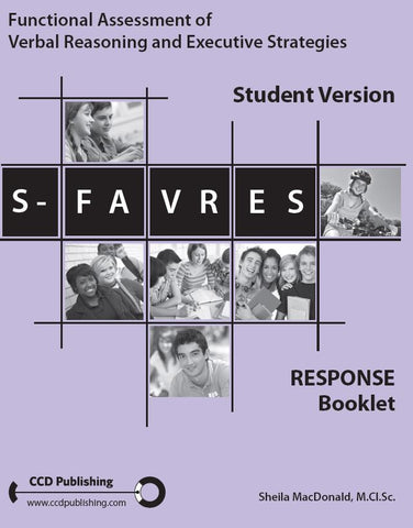 SFR104 - STUDENT FAVRES - Record Forms (Pkg 25) (Level B)