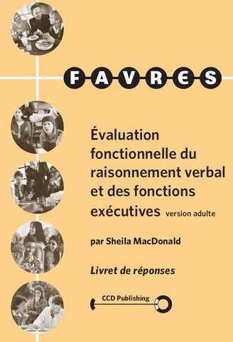 FAR105 - ADULT FAVRES - Record Forms - French Version (Pkg 25) (Level B)