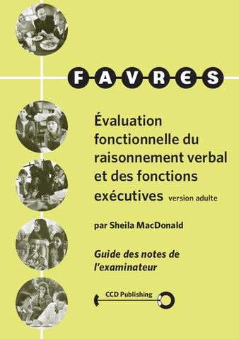 FAE102 - ADULT FAVRES - Examiner's Scoring Booklets - French Version (Pkg 25) (Level B)