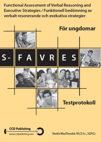 SFESWED101 - STUDENT FAVRES - Examiner's Scoring Booklets (Pkg 25) - Swedish Version (Level B)