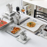 Marble dinner service set 30 piece - I want direct