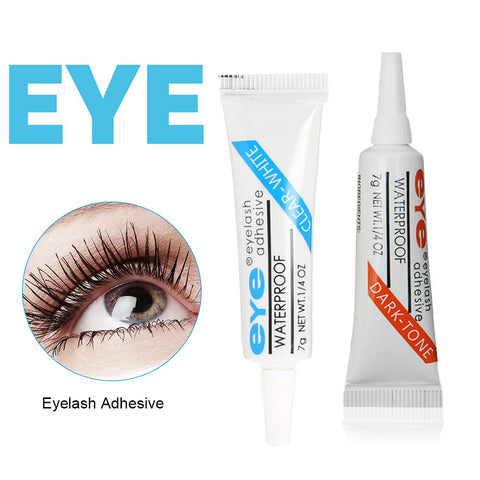 Professional Eyelash Glue for lashes  Clear/Dark Waterproof Eye Lash Glue Adhesive Extensions for Makeup