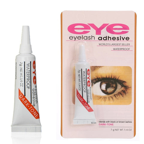 Professional Eyelash Glue for lashes Clear/Dark Waterproof Eye Lash Glue Adhesive Extensions for Makeup - I want direct