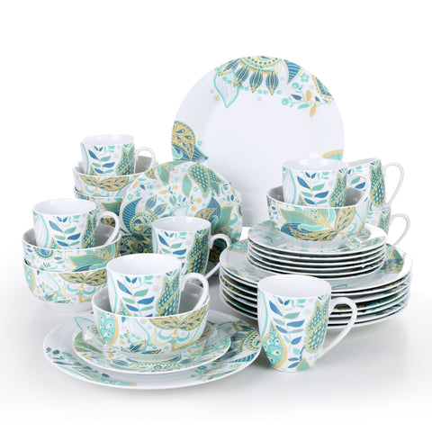 Tableware Dinner Service for 4 with japanese style design - I want direct