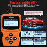 VIDENT iEasy200 Full OBDII/EOBD Diagnostic Tool CAN Code Reader iEasy 200.