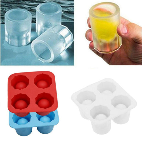 Ice Cube Mold Shot glasses x 4 - I want direct
