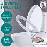 easy fit toilet seat seat with soft close and quick release for easy cleaning - I want direct