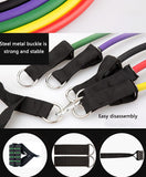 11pcs resistance bands for workouts anywhere great for all round fitness - I want direct