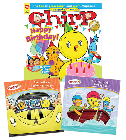 Chirp Magazine and Book Bundle // Chirp Magazine and Book Bundle