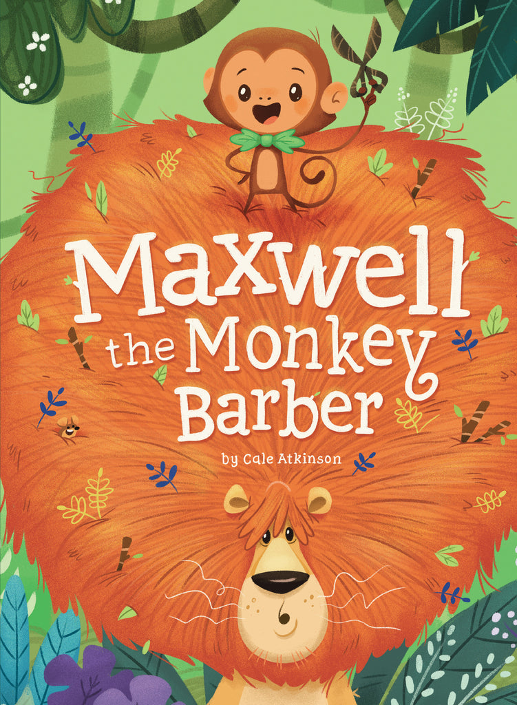 Maxwell the Monkey Barber - owlkids-us